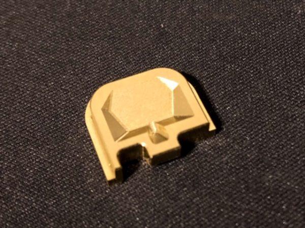 Glock Backplate Brass