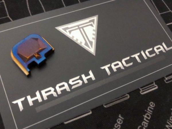 Glock Backplate Titanium Anodized