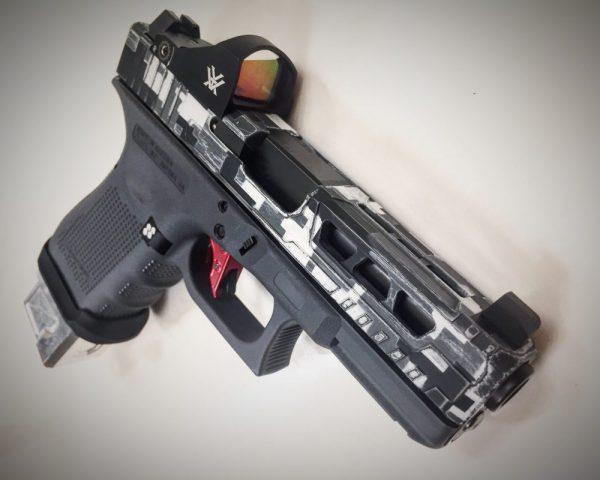 Custom Glock Slide Milling