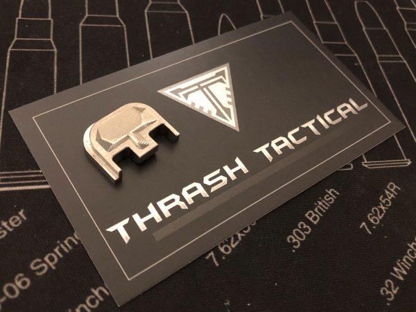 Glock Backplate Titanium
