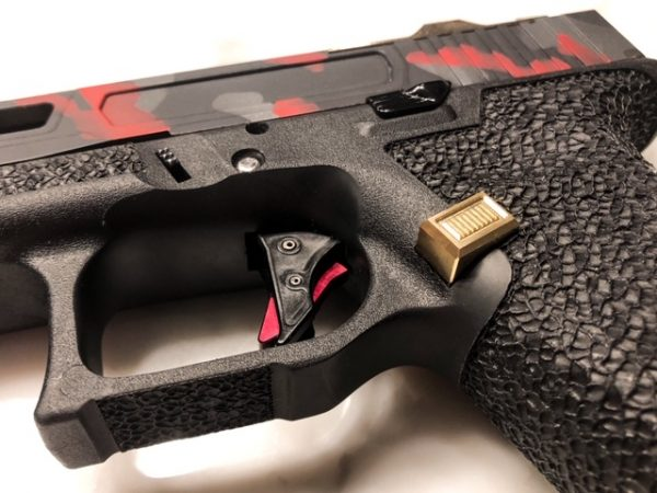 Glock Mag Release Gold