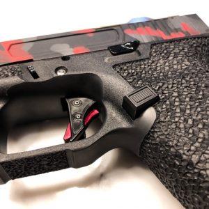 glock mag release black