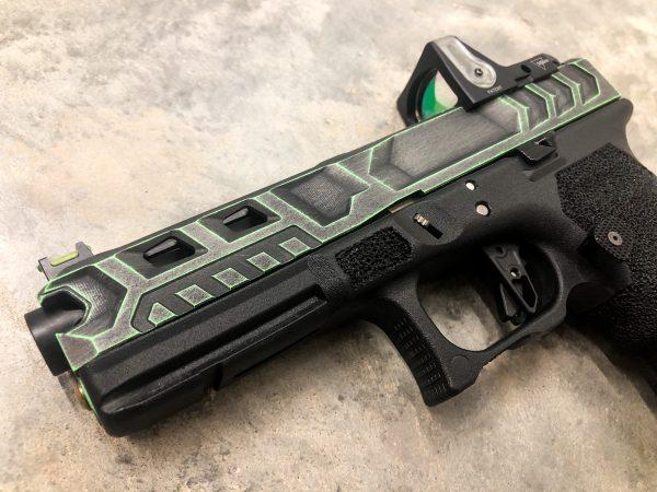 Custom Glock Slide Milling and RMR Optic cutout